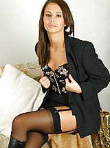 garter belt, Promotional gallery for Louise L with samples from some of her sets.