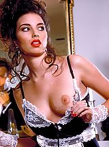 Suze Randall Pics: The legendary Italian stud seduces sensuous Sara Lynn to full submissiveness!