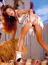 Suze Randall Pics: She's a southern belle who wants to honky tonk with your ding dong, shot 5/10/90.