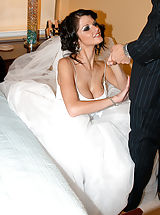 Open Legs, Newlywed Joslyn gets freaky on her wedding night and lets her husband stick it in her ass for the first time.