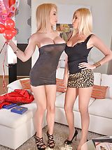 Legs High Heels, Dona Bell, amp; Chessie Kay