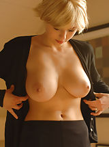 Busty Secretary, Iga A from Czech Republic