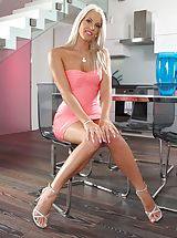 Naughty Secretary, Photo Scene No. 954 Sexy Girl Blanche Bradburry Undressed