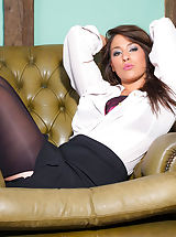 Naughty Secretary, Katie B