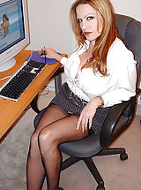 Office Sex, I worked so long and hard on this project. My supervisor, John, was overseeing my work the entire time. I think he was working harder at staring at my tits than he was making sure I was meeting my deadline. I could feel his eyes burning into my skin...