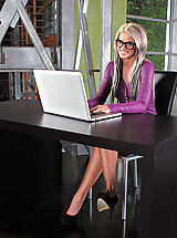 Sexy Secretary, Moist Snatch from 847 Jessa Rhodes