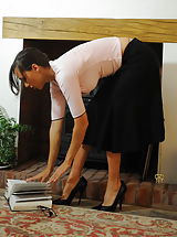 High Heels, Teacher Miss Nadja