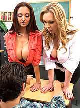 Ava Addams Tanya Tate,My First Sex Teacher,Tanya Tate, Ava Addams, Giovanni Francesco, Bad Girl, Professor, Chair, Classroom, Desk, American, Athletic Body, Average Body, Ball licking, BGG, Big Butt, Great Dick, Big Fake Breasts, Blonde, Blow Job, British
