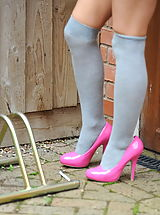 Classic Pumps, StMackenzies on November10 Student Kayleigh Williams