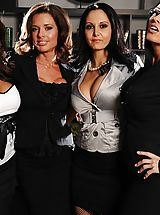 Ava Addams, Francesca Le, Vanilla Deville, Veronica Avluv, Keiran Lee in Office 4-Play