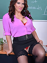 Leena Sky,My First Sex Teacher,Levi Cash, Leena Sky, Professor, Classroom, Desk, 69, American, Butt licking, Huge Ass, Big Fake Boobs, Blow Job, Brunette, Curvy Woman, Facial, High Heel Pumps, Innie Muschi, Mature, Shaved, Stockings, Titty Fucking, Trimme