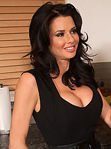Secretaries, Busty gorgeous mom Veronica Avluv has hot sex with big cocked friend of her son.