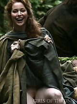 under skirt, Game of Thrones Girls Upskirt Pussy Insights