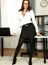 Busty Secretary, Colossal Curves, Spunk For Keisha