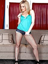 Pantyhose Pics: Alexis Texas, Randy Spears in Showing the Son how it's Done