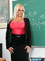 Alexis Golden gives Danny the extra credit he needs to pass the class.