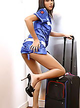 Asian Women monica chow 14 stewardess